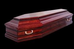 Купить гроб - АEURO RED (ольха) глянец