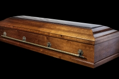 Купить гроб - М23 (мусульм, Ольха)