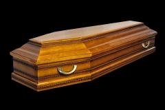 Гроб/Купить гроб - AEURO BRAWN (ольха) глянец