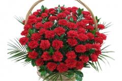 Корзины из живых цветов на похороны/купить живыe цветы на похороны