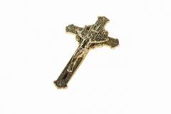 Крест ажурный с распятием