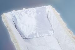 подушка в гроб/шелковая подушка в гроб