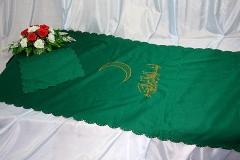 покрывало в гроб/ покрывало ритуальное мусульманский