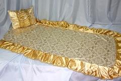 покрывало в гроб/ покрывало ритуальное  Комплект Купеческий