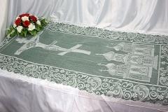 покрывало в гроб/ покрывало ритуальное  тюль