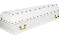 Купить гроб - Б-4 белый
