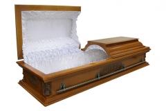 Купить гроб - Вегас ангел плоский светлый 1