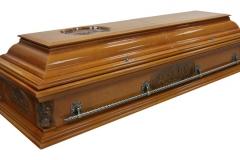 Купить гроб - Вегас ангел плоский светлый
