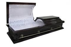 Купить гроб - Вегас ангел плоский темный 1