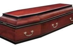 Купить гроб - Классика колода темный