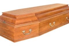 Купить гроб - Классика колода светлый