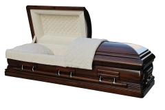 Эксклюзивный гроб/Элитный гроб двухкрышечный -Monarch