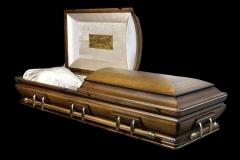 Эксклюзивный гроб/Элитный гроб двухкрышечный -RENAISSANCE (дуб) 2