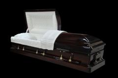 Эксклюзивный гроб/Элитный гроб двухкрышечный -WINDSOR (махагони)