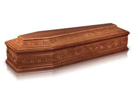 купить гроб полированный импортный