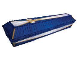 купить гроб обитый тканью дешево