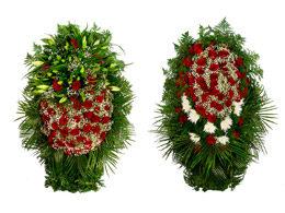 Живые венки на похороны