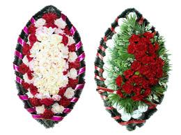 Купить венки на похороны из искусственных цветов