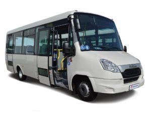 Аренда похоронного автобуса Ивеко