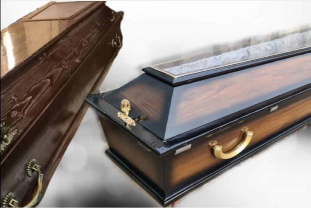 Гробы с окошком, ковидные гробы